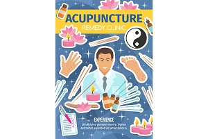 Acupuncture clinic, spa salon
