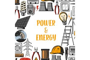 Power energy, industrial electricity
