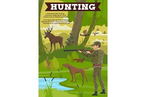 Hunting sport outdoor activity