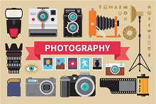 Photography - Vector Icons Set
