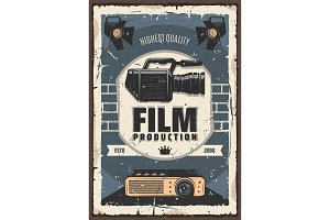 Film production, cinema or movie