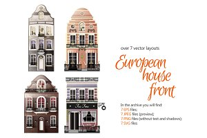European House Fronts
