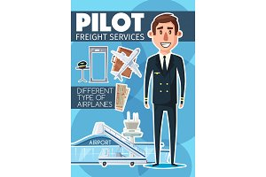 Pilot profession and freight service