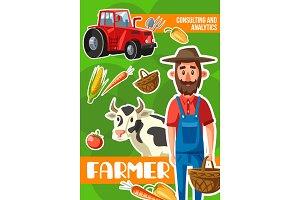 Farmer. Agriculture
