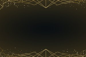 Minimal art deco wallpaper gold