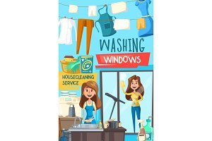 Housecleaning and washing service