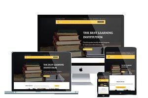 LT Abroad Onepage Joomla Education
