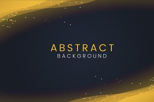 Abstract wallpaper with gold glitter