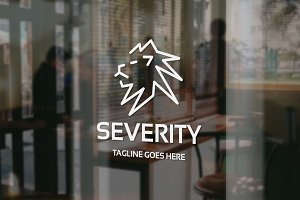 Severity Lion Logo