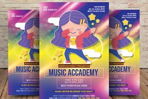 Music Academy Flyer & Poster