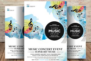 Super Music Festival Flyer Template