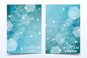 Business templates brochure