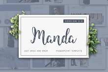 MANDA 2.0 Powerpoint Template