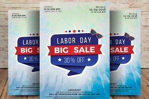 Labor Day Big Sale Flyer