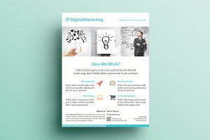 Creative Marketing Flyer V17