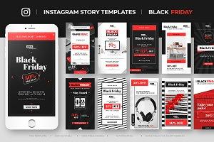 Instagram Sales Story Feed Template