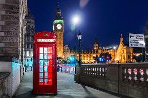 London, England, United Kingdom - Po