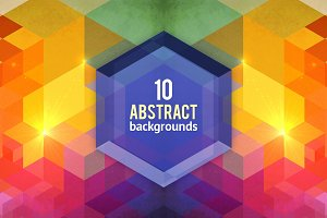 10 textured abstract backgrounds