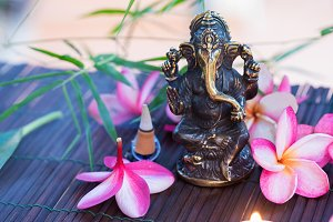 Statue of Ganesha Indian Hinduism Go