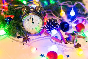 Christmas countdown to the new year.