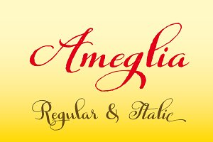 Ameglia Family Regular & Italic