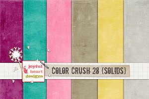 Color Crush 28 {solids} :)