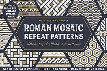 Roman Mosaic Repeat Patterns