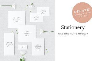 Wedding Stationery Mockup