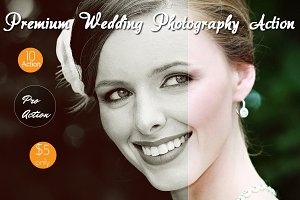 10 Premium Wedding Photograph Action