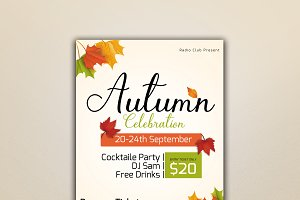 Autumn Celebration Flyer