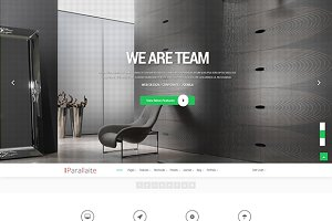 Parallaite Corporate Joomla Template