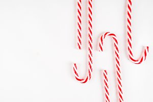 Christmas candy cane sweets