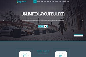 Personite OnePage Joomla Template