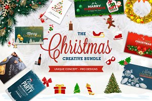 Saludos' (Christmas Design Bundle)