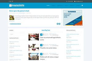 Magazinite Blog Joomla Template