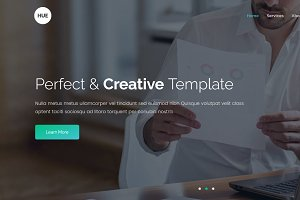 HUE - Onepage Multi-Purpose HTML5