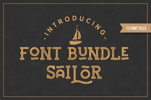 Sailor Font Bundle