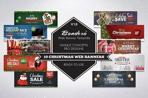 Bandera' (Christmas Web Banners)