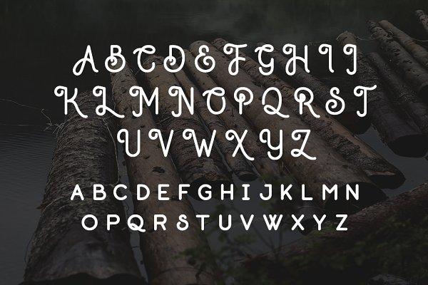 Sans Serif Fonts - Outdoors - Handmade Sans Serif Font