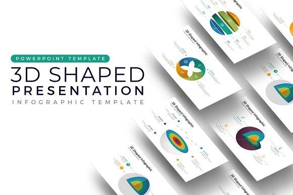 3d infographic presentation presentation templates creative market