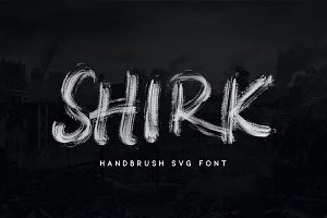 Shirk - Handbrush SVG