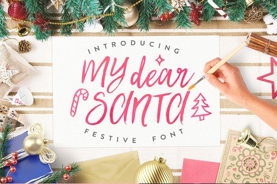 Best Christmas Font! Christmas Sale!