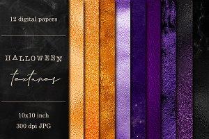 Halloween textures set