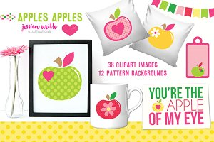 Apples Apples Clipart Collection