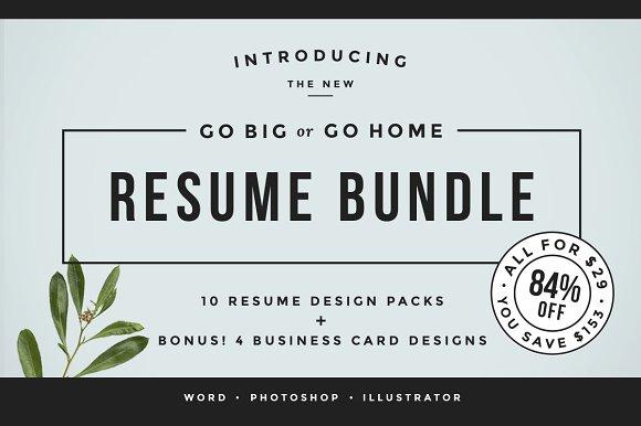 the resume bundle resumes