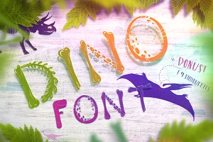 Dino Font