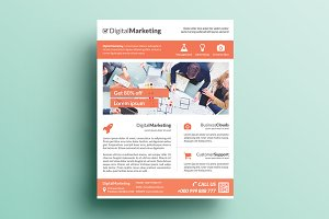 Creative Marketing Flyer V15
