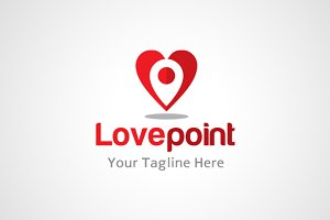 Love Point Logo Design / icon