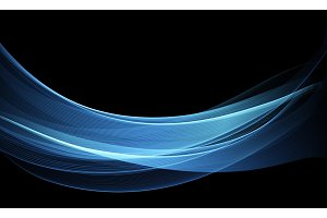 Vector Abstract shiny color blue