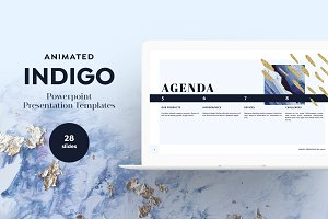 INDIGO PPT Presentation Templates